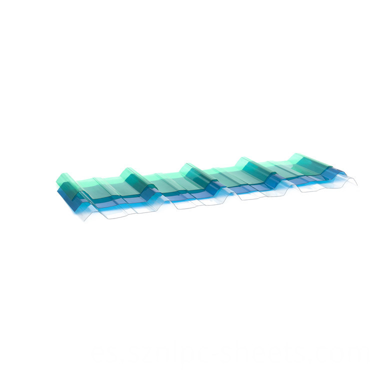 polycarbonate wave panel