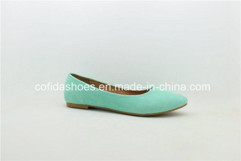 New Design Classic Flat Ballerina Lady Pump Shoes