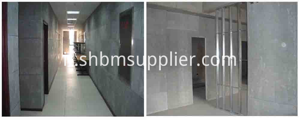 No-radioactivity Fireproof Heat-proof Fiber Cement Board