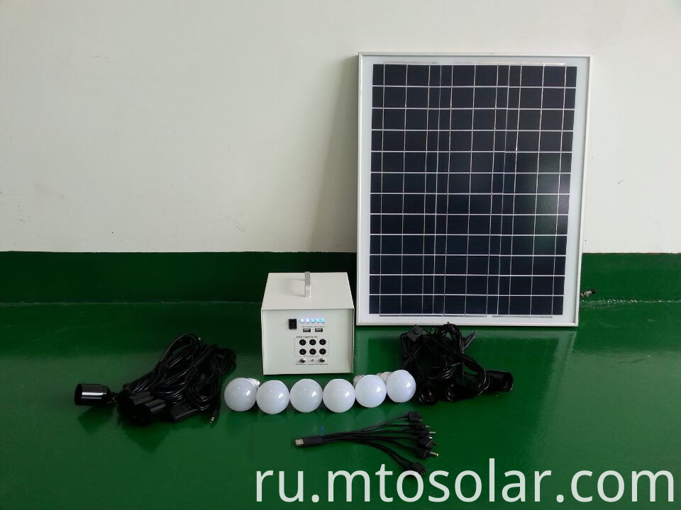 Home Solar 40w electricity generation system