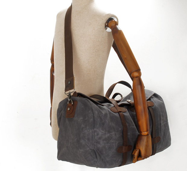 2032 Large Custom Canvas Leather Travel Bag Tote Bags Luggage Bags