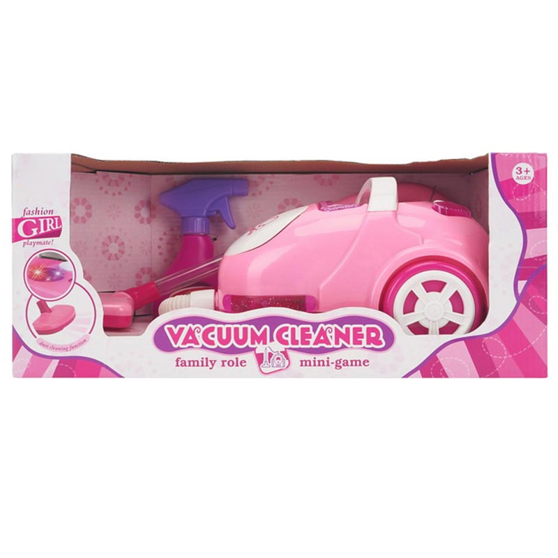 Electric Light Cleaner Eduction Girl Play House Toy
