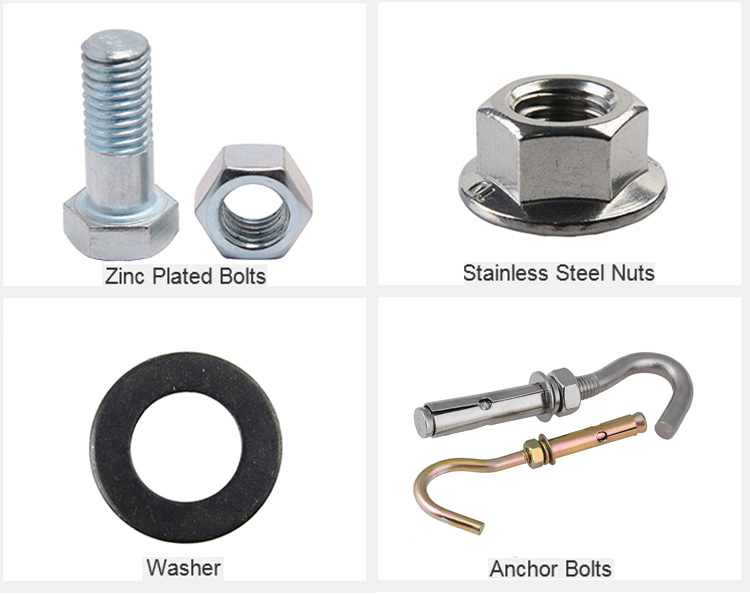 Cross Recessed Pan Head Screws and Washer