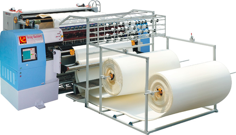 Yuxing High Speed Quilting Machine for Mattress Panel, Multi-Needle Quilting Machine for Mattress Pad Cover