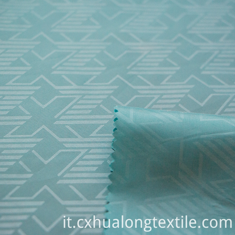 embossed taffeta Fabric