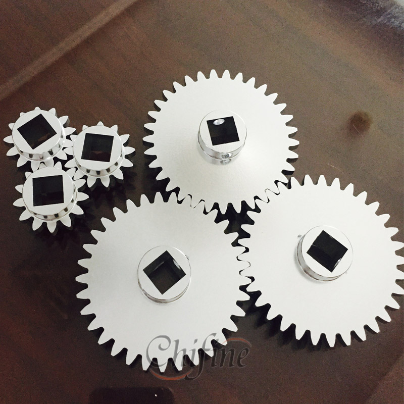 Custom Aluminum Die Cast and Machining Gears with Anodizing