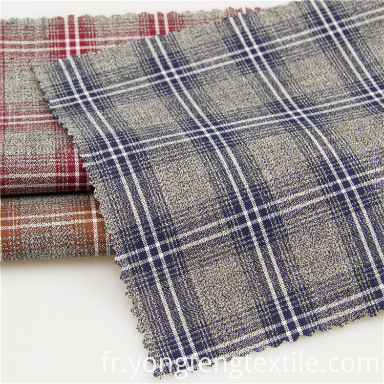 Colorful yarn dyed 100%cotton plaid fabrics for pants