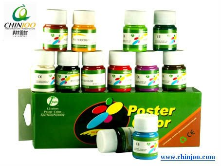 30ml plastic bottle poster color paint
