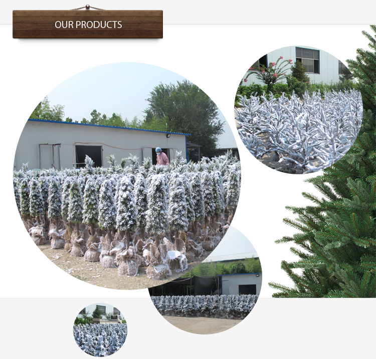 H90-125cm Wholesale Customized Grass Craft Christmas Tree Gift