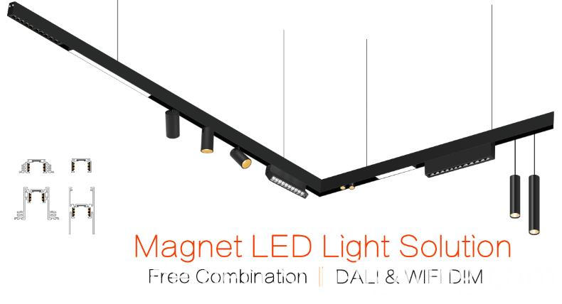 magnetic led light
