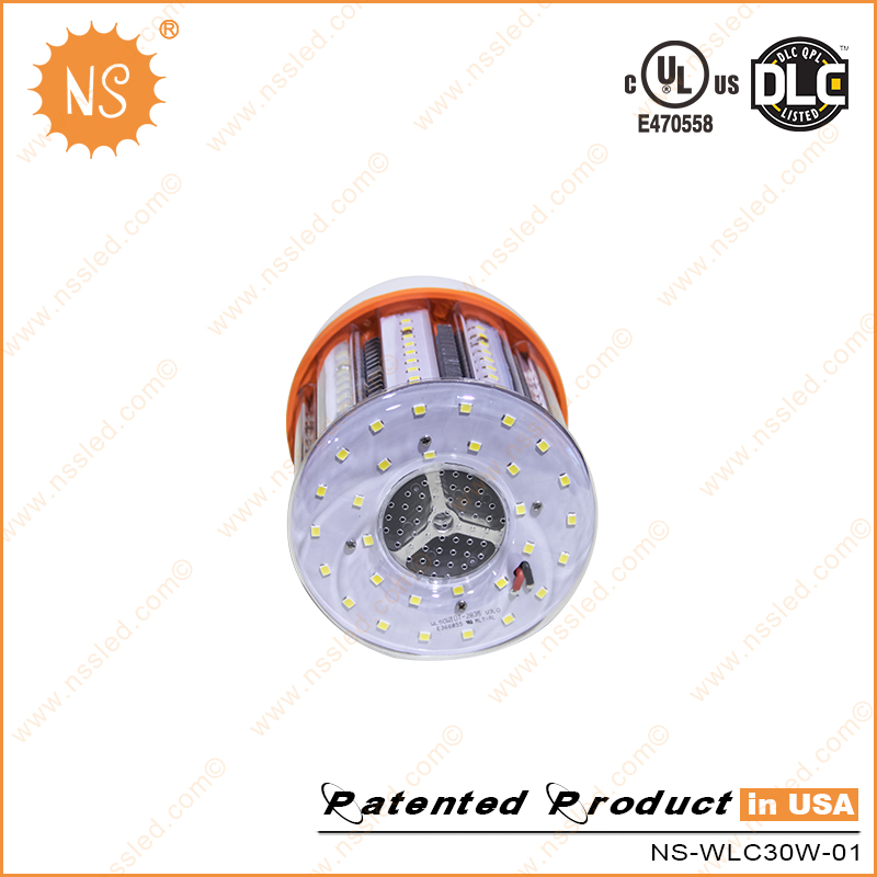 UL Dlc IP64 110V-277VAC 4000k E26 E39 4500lm 30W LED Light Bulb