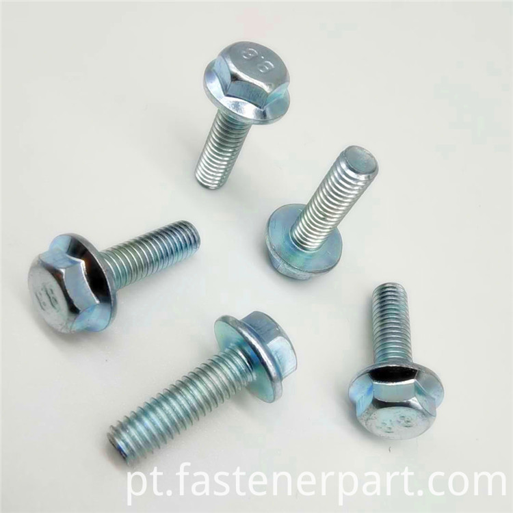 hex head flange bolts