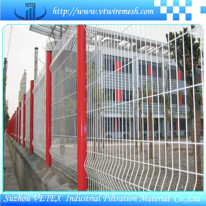 Galvanized Vetex Fence Used in Construction