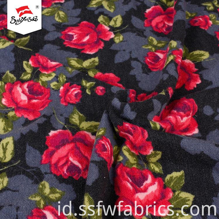 Fashion Flower Print Fabric