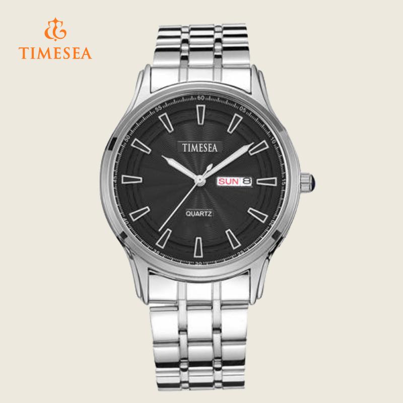 Men Steel Display Analog Quartz Watch Wrist Watch 72367
