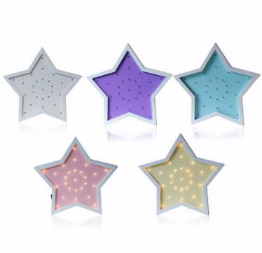Five-pointed Star Energy Saving Lamp