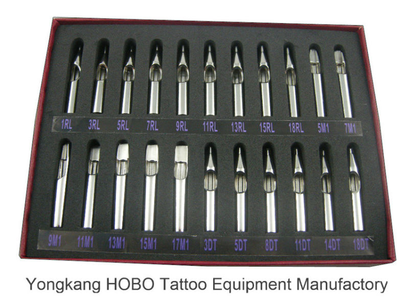 Cheap Short Stainless Steel Tattoo Needle Tips Skin Care Supplies