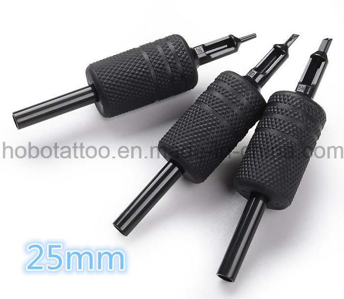 Brand Quality 19mm All Black Disposable Round Tattoo Grips