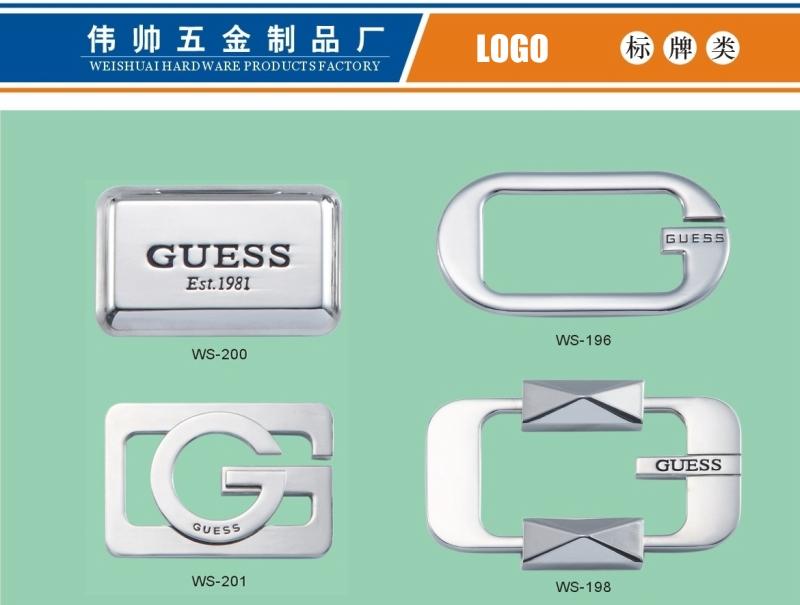 Environmental Friendly Label, Metal Logo, Zinc Alloy Accessories