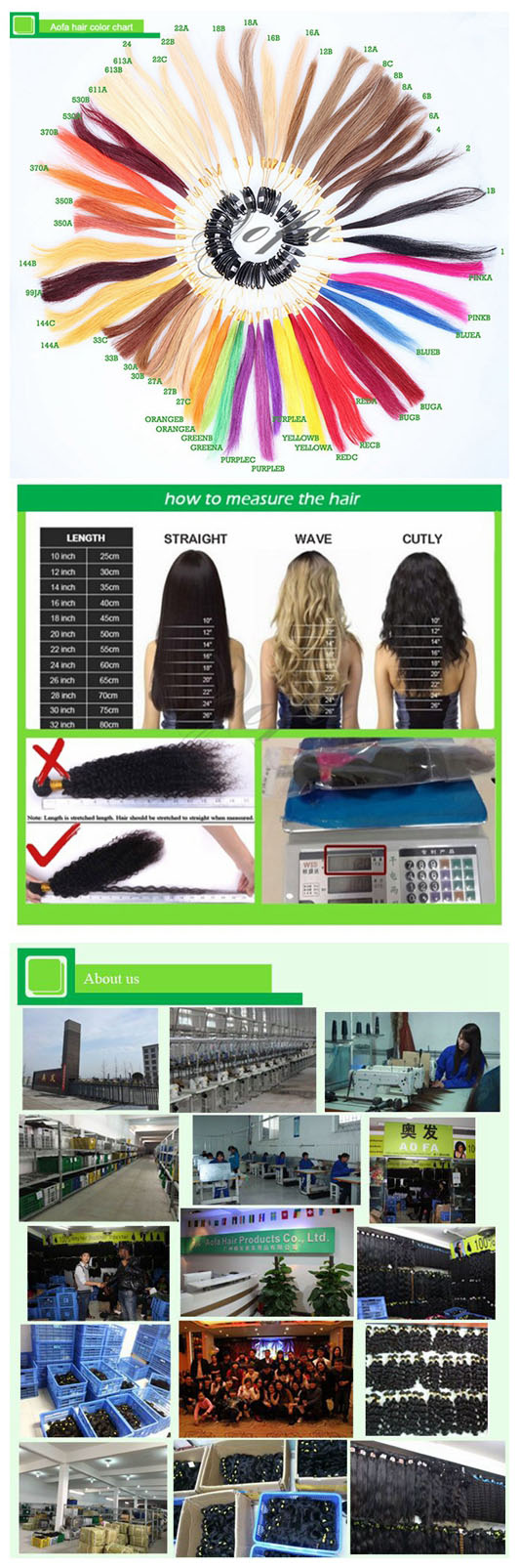 100%Indian Virgin Hair/Deep Wave Hair/Remy Human Hair Extension