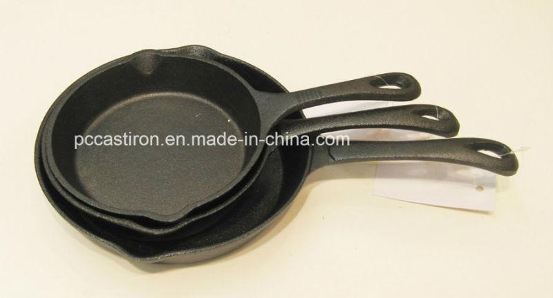Preseasoned Cast Iron Griddle Pan Dia 28cm