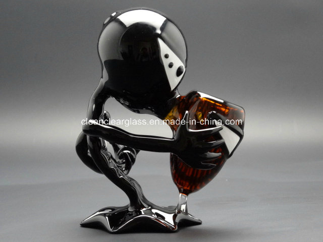 Wholesale! Black G Spot Alien Glass Smoking Pipe, Hand Pipe