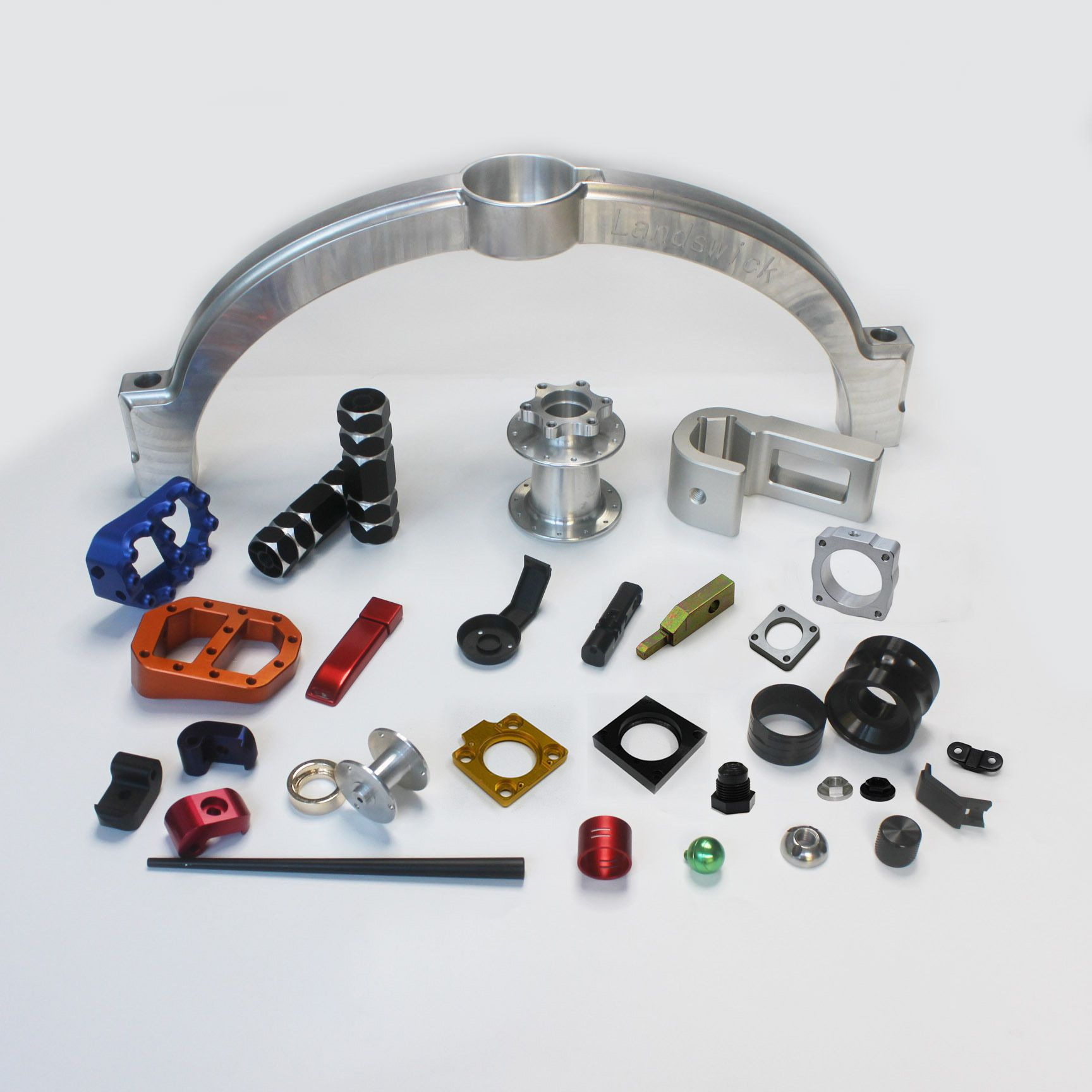Machining plastic parts machinery parts processing