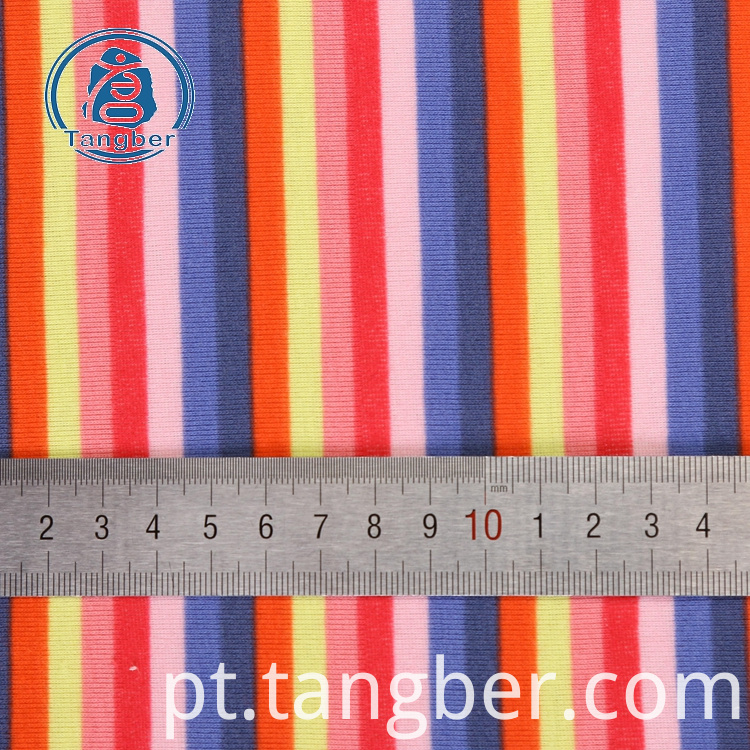Stripe Knit Fabric