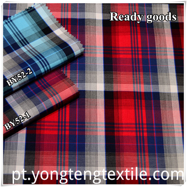 Ready goods 100%cotton 50*50 fabric for men's shirt