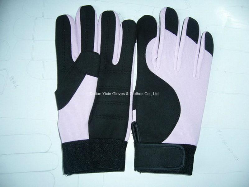 Work Glove-Micro Fiber Glove-Safety Glove-Industrial Glove-Labor Glove-Hand Glove-Cheap Glove