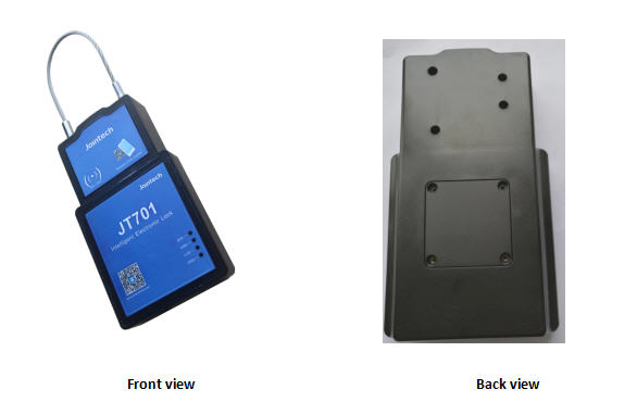 Trailer Lock with GPS Tracker