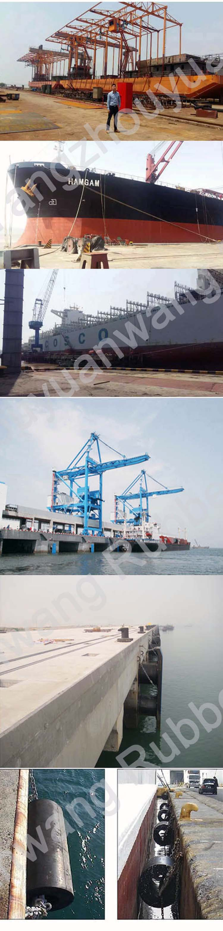 Cmr-Y Marine Cylindrical Type Rubber Fender for Ship