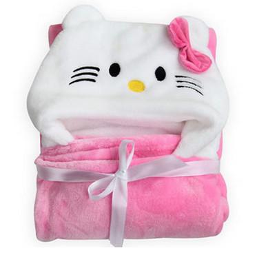 Infant Cloak Animal Shapes Flannel Super Soft Cashmere Shawl
