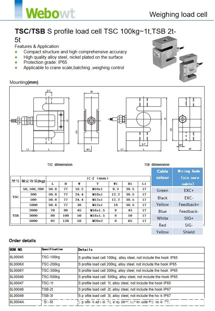 Weighing Scale Load Cell