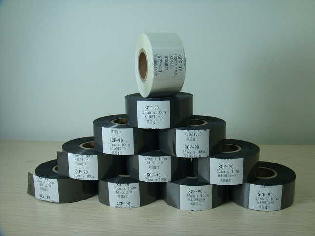 Black Hot Stamping Ribbons
