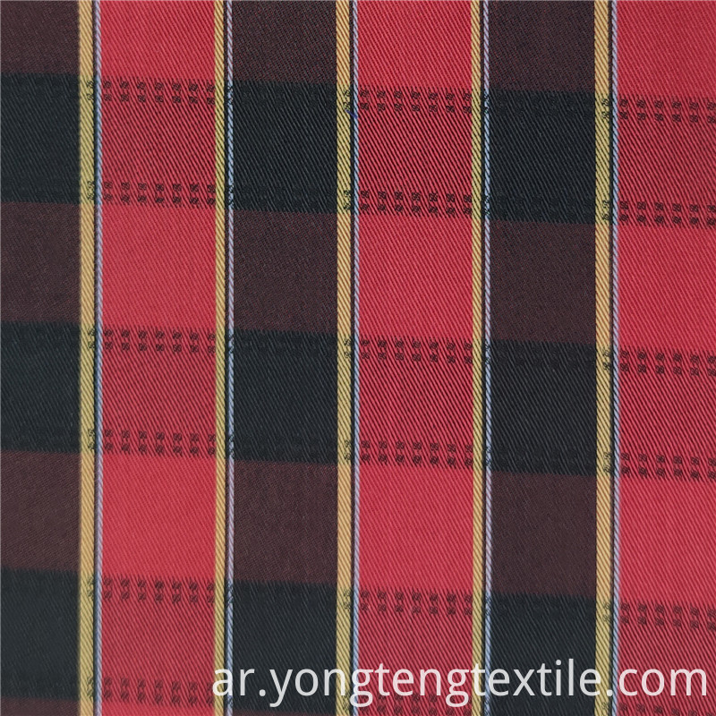 100% Cotton Plaid Fabric