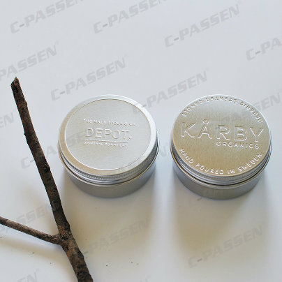 Cosmetic Cream Jar with Screw Cover (PPC-ATC-082)