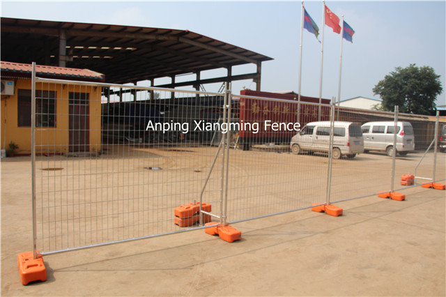 Australia Hot Dipped Galvanised Temporary Fence