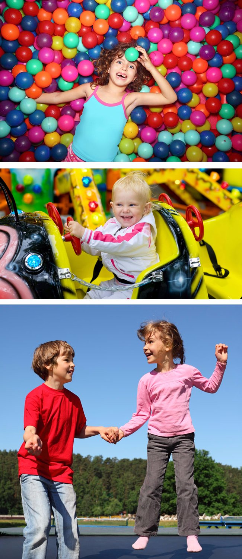 Jungle Style Recreation Center Soft Playground Equipment for Children