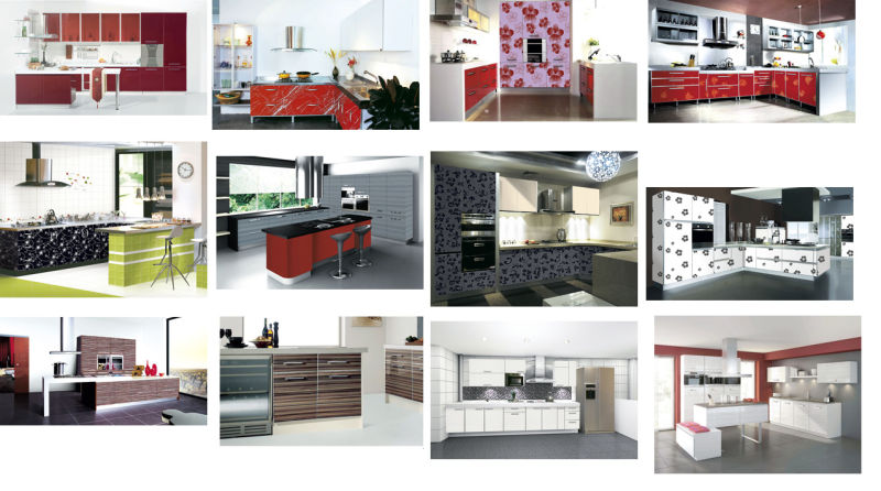 Glossy 1mm Acrylic Sheets for Kitchen Cabinet (zhuv)