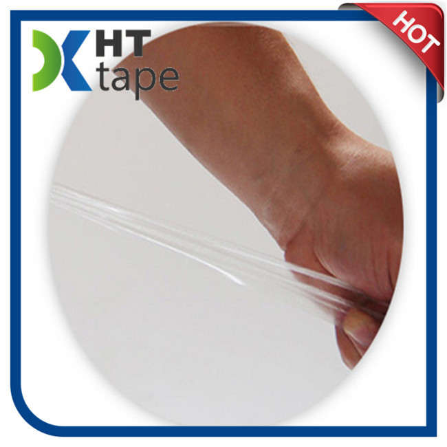 Arylic Transparence Double Sided Tape with Red Liner