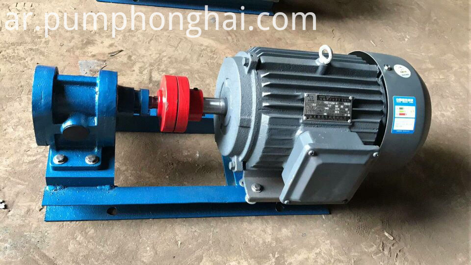 high pressure electric motor lube oil transfer pump