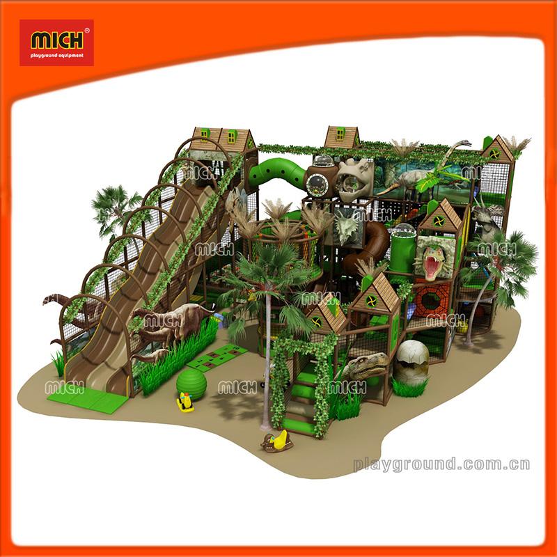 Dinosaur Theme Kids Entertainment Indoor Soft Playground for Sale