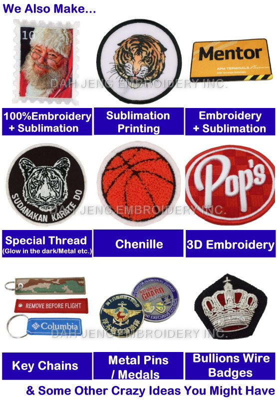 Embroidered Patch - Custom Embroidery - Organization Badge