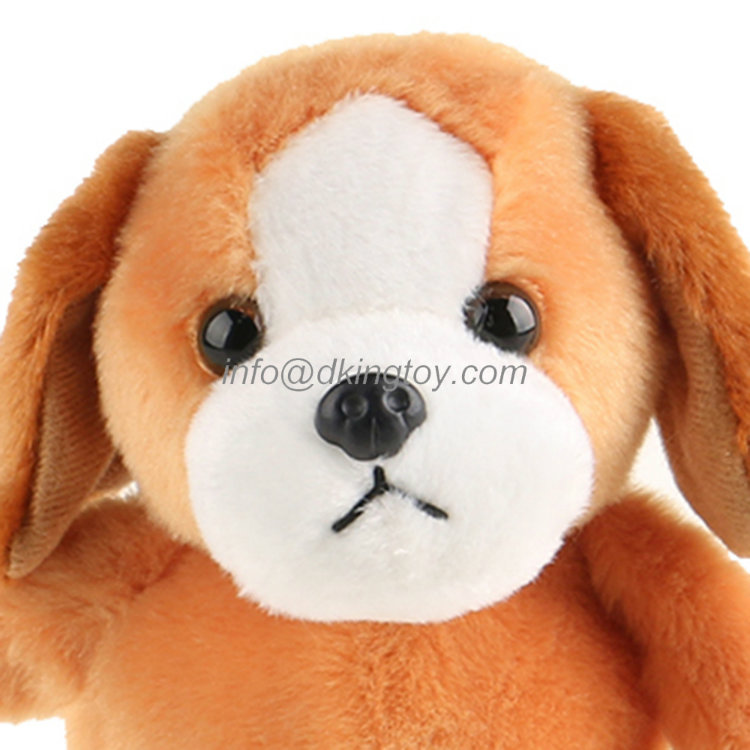 Cute Electronic Plush Dog Soft Stuffed Animal Toys Can Customized