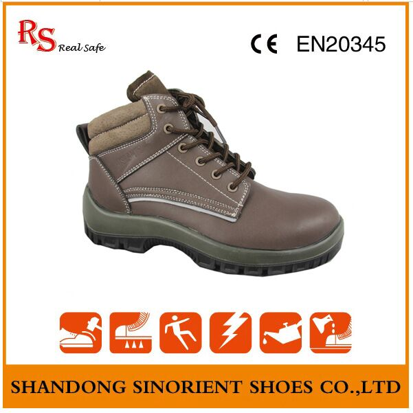 Western Cowboy Safety Boots RS005