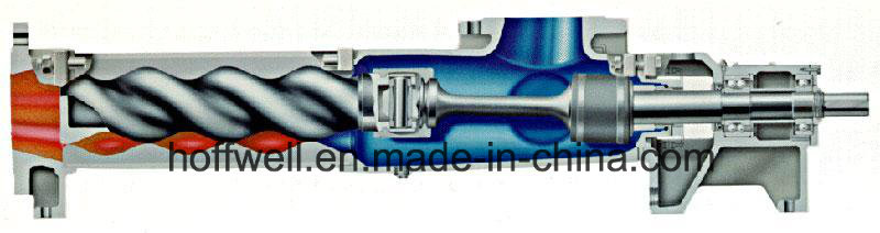 CE Approved G85-2 Vertical Single Screw Pump