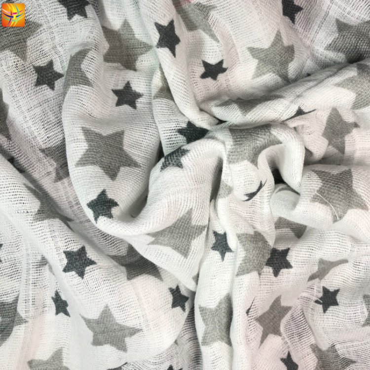 Cotton Printed Baby Fabric