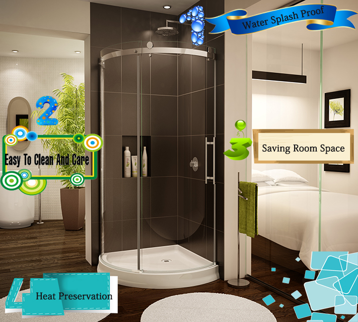 Shower Toughened Glass