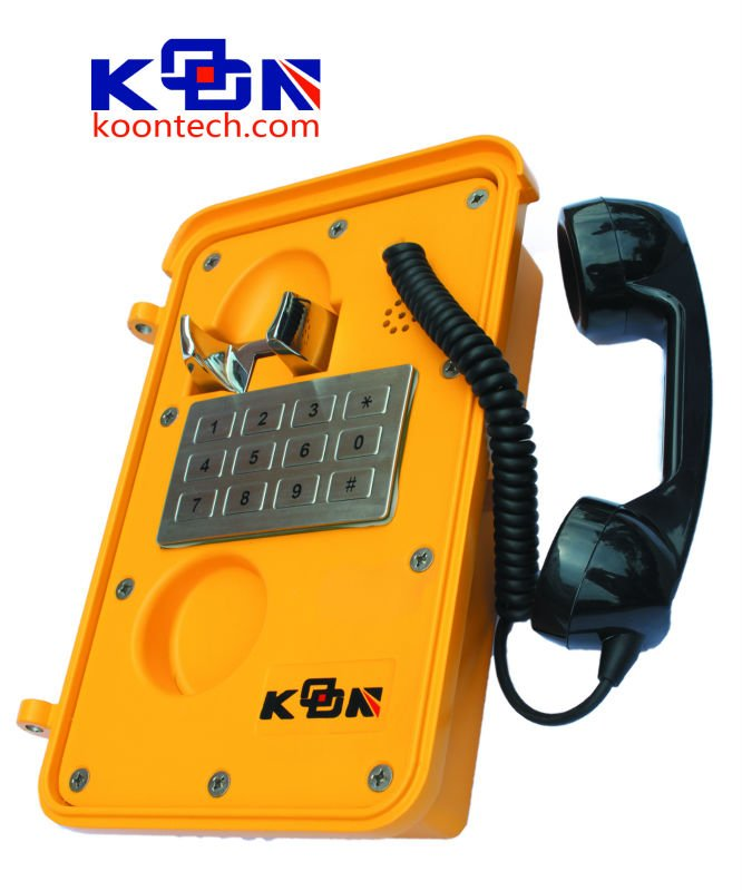 Names Brand of Telephone Weatherproof Handset Emergency Telephone